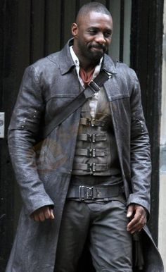 The Dark_Tower Roland Idris Elba leather Coat just $179.00