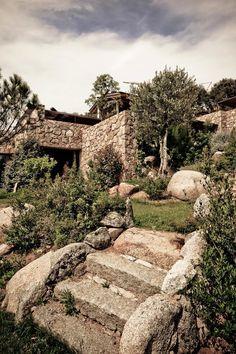 gilles terrazzoni architecte / sa maison à l'île de corse