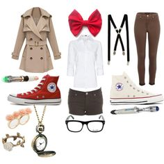 """""""Doctor Who - Cosplay Casually"""" by schiz-o-phre-ni-a on Polyvore"""