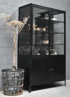 Kasten - Lilly is Love Industrial Closet, Modern Industrial, China Cabinet, Master Bath, Sweet Home, New Homes, Indoor, Storage, Interior