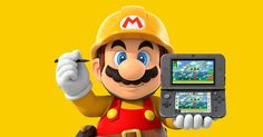 Super Mario Maker Goes Portable (But Loses Online Sharing)  #Mario