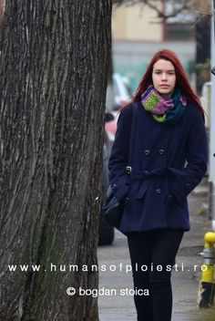 Autumn vibe on a winter weather - find yourself on www.ro and email us your story: contact @ humansofploiesti. Finding Yourself, Weather, Autumn, Coat, Jackets, Women, Fashion, Down Jackets, Moda