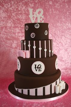 Till Chocolate do us Part by Bien & Tirs #cakesbybien