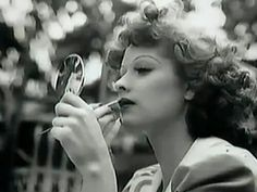 Young Lucille Ball 1940s