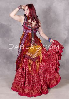 Sequin Sari Underbust Tail Vests/Dahlal Costume Shop, Sari Silk, Plum Purple, Embroidered Silk, Dance Outfits, Belly Dance, Dance Costumes, Sequins, Lace
