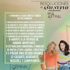 12 Intenciones - 12 Lunas Nuevas | Miastral.comMiastral.com