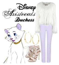 """""""Duchess"""" by vampireknight71400 on Polyvore featuring Disney, Carven, Carvela and Lana"""