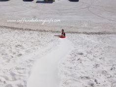 Sand Sledding adventures!