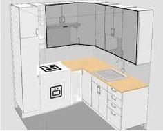 Interior Design For Small Kitchens Google Search Small L Shaped