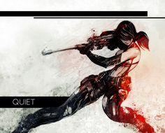 Quiet (MGSV) by Xeromander.deviantart.com on @DeviantArt