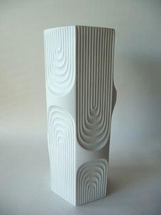 1960s Kaiser Porcelain Op Art Vase | Flickr – 相片分享!