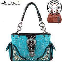 Montana West MW131G-8085 Concealed Carry Handbag