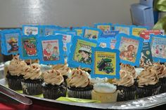 picture book cake toppers