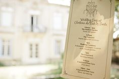 chandelier order of service