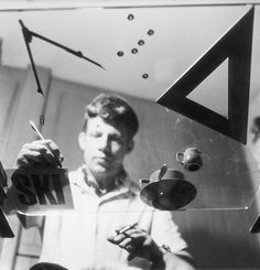 Max Huber was an influential Swiss twentieth century graphic designer. Max Huber was born in Baar, Switzerland in 1919. He graduates from Kunstgewerbeschule in Zurich under Hans Williman.