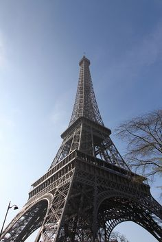 Eiffel Tower, October 2011. Getting excited for my trip this weekend.