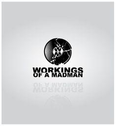 Workings Of A Madman by David Somers, via Behance Mad Men, Illustrator, Behance, David, Graphic Design, Logo, Poster, Logos, Illustrators