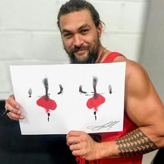 Reposted from - Jason Momoa has contributed to our Celebrity Klecksography supporting Rethink Mental Illness. Jason Momoa Aquaman, Baby Daddy, Playing Cards, Marvel, Memories, Photo And Video, Celebs, Instagram, Mental Illness