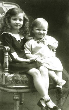 """""""Princess Ileana and Prince Mircea of Romania. Princess Alexandra, Princess Beatrice, Princess Victoria, Queen Victoria, Romanian Royal Family, Ferdinand, Women In History, British Royals, Vintage Photography"""