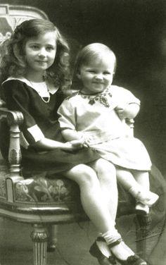 Princess Ileana and Prince Mircea.