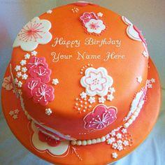 Best Birthday Cake Images, Cartoon Birthday Cake, Birthday Cake Writing, Fruit Birthday Cake, Pink Birthday Cakes, Birthday Cakes For Women, Happy Bday Cake, Birthday Cake For Brother, Friends Birthday Cake
