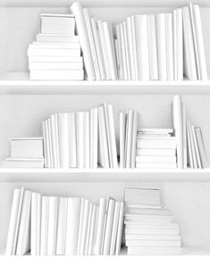 White Room Decor Ideas for a Fresh Summer - Elinor ❤🌸❤🌸 White Feed, All White, White Room Decor, White Books, Black And White Aesthetic, Aesthetic Colors, Aesthetic People, White Wallpaper, Shades Of White