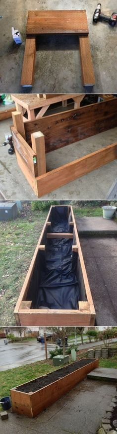 Building a raised planter bed #raisedgardening