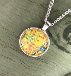 Northern Kentucky University Map Necklace, Vintage Map Pendant ... on map of university of louisiana lafayette campus, map of cinn ohio, uc campus map ohio, map off cinn oh, map showing ohio counties,