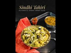 Veg Indian Cooking: Sindhi Tahiri Rice Recipes, Easy Sesame Chicken, Recipe Link, Guacamole, New Baby Products, Vegetarian, Indian, Cooking