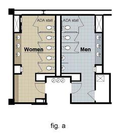 public toilet plan dimensions - Recherche Google