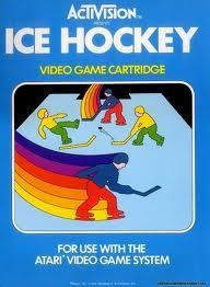 Ice Hockey - Atari 2600 Game. Game only. Great condition!!! Tested and works like new.