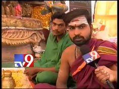 82 foot Green Ganesha draws crowds in Visakha