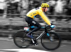 Chris Froome with Osymetric Ring