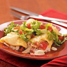 Leftover turkey recipes enchiladas chicken