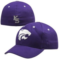 e0f9f1bbd5b Top of the World Kansas State Wildcats Youth The Rookie 1Fit Hat - Purple