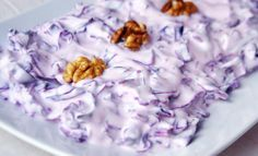 Yoğurtlu Mor Lahana Salatası Tarifi