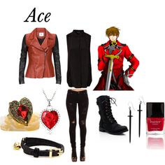"""""""Ace- Alice in the Counrty of Hearts"""" by animedowntherunway on Polyvore"""