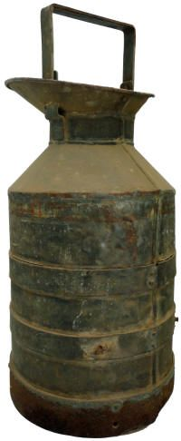 Milk drum, also known as a pail or bucket Milk Cans, Historical Society, Drum, Cow, Household, Bucket, Canning, Antiques, Antiquities