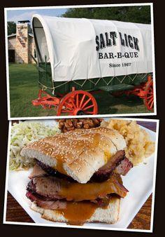 The Salt Lick Bar-B-Que, since 1967.  #Driftwood #Texas #BBQ