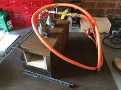 Double burner Gas Forge by Castree Kilns