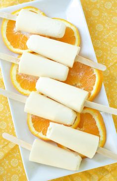 Orange Creamsicles | 33 Super-Cool Popsicles To Make This Summer