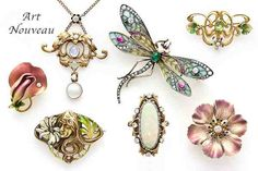 Art Nouveau Jewelry Collection
