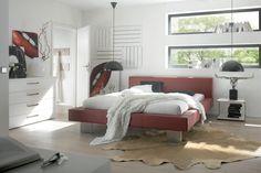 Bett HASENA DREAM-LINE Canda Quada Zana M Bettgestell, Doppelbett - Wunderschöne Schlafzimmermöbel