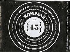 Kompaan 45 is een donker bovengistend Nederlands bier gemaakt van 6 soorten mout en 3 soorten hop. Tijden het ontwikkelen van de 45 hebben we ons laten inspireren door de Engelse Porter en Stout bieren. De 45 kenmerkt zich door zijn donkere uitstraling, frisse neus en bittere smaakbeleving. De 45 wordt geleverd in flessen van 0,33, 75cl en vaten van 20 liter.   Kompaan 45 & eten: gebraden of gegrild vlees