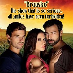 Brousko my favorite Greek show! Series Movies, Tv Series, American Series, Film Books, All Smiles, Famous People, Greek, Actresses, My Love