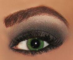 soft smokey eye makeup for green eyes - Google Search