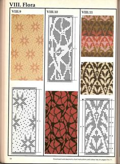 Star pattern might be nice for a shawl or scarf. Машинное вязание - жаккард Машинное вязание - жаккард #53