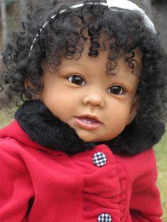 Jadnik`s Reborn Babies *Naomi * Bonnie * Linda Murray * ethnic toddler