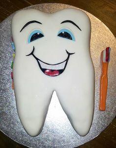 A dentists retirement cake.