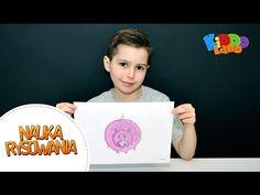 Nauka rysowania dla dzieci - Rysowanie Świnki - Kiddoland